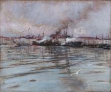 Boldini, Il porto di Venezia