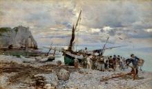 Boldini, Il ritorno delle barche da pesca, Etretat.jpg