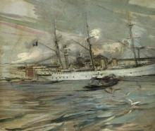Boldini, Imbarcazione nel bacino di San Marco.jpg