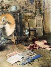 Boldini, Interno di studio | Intérieur d'atelier | Study interior