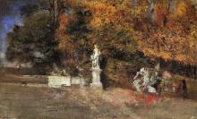 Giovanni Boldini, L'Allee des rois a Versailles