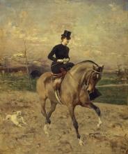 Giovanni Boldini, L'amazzone | L'amazone | The horsewoman