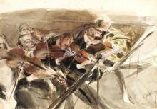 Giovanni Boldini, L'orchestra