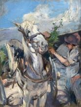 Boldini, La bardatura di un cavallo.jpg