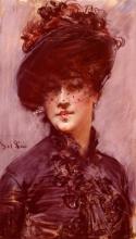 Boldini, La donna col cappello nero.jpg