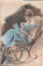 Giovanni Boldini, La sedia a dondolo