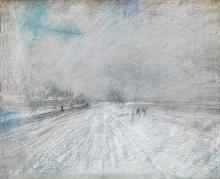 Boldini, Le fortificazioni in inverno.jpg