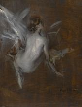 Giovanni Boldini, Modella nuda [fronte]