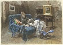 Boldini, Nello studio [1873].jpg