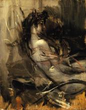 Giovanni Boldini, Nudo seduto | Nu assis