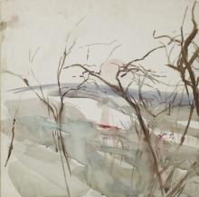 Boldini, Paesaggio con alberi spogli.png