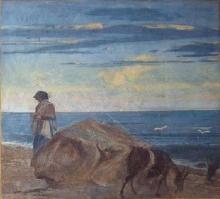 Boldini, Paesaggio marino con guardiana di capre.jpg