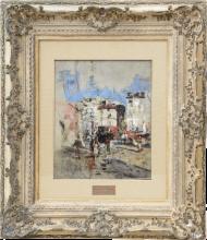 Giovanni Boldini, Place Pigalle, con omnibus a cavalli, Parigi