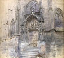 Boldini, Portale della chiesa di Saint Germain ad Amiens
