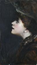 Giovanni Boldini, Ragazza con il cappellino