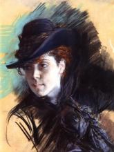 Boldini, Ragazza con un cappello nero.jpg