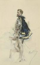 Giovanni Boldini, Raphaël Duflos nel ruolo di Enrico III