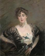 Giovanni Boldini, Ritratto a mezzo busto di Josefina Alvear de Errazuriz