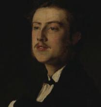Boldini, Ritratto del marchese del Grillo [dettaglio]