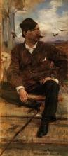 Giovanni Boldini, Ritratto del pittore Cristiano Banti