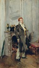 Giovanni Boldini, Ritratto dell'attore Coquelin maggiore | Portrait de l'acteur Coquelin ainé | Portrait of the actor Coquelin the elder