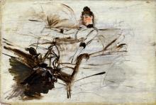 Giovanni Boldini, Ritratto di Alaide Banti