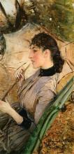 Giovanni Boldini, Ritratto di Alaide Banti con l'ombrellino