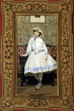 Boldini, Ritratto di Alaide Banti in abito bianco [cornice].jpg
