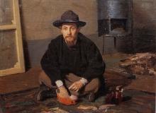 Boldini, Ritratto di Diego Martelli
