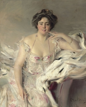 Giovanni Boldini, Ritratto di Lady Nanne Schrader, nata Wiborg