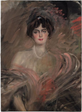 Boldini, Ritratto di Mademoiselle Le Roy