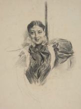 Giovanni Boldini, Ritratto di donna