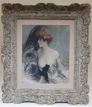 Boldini, Ritratto di una bella donna dai capelli rossi [cornice].jpg
