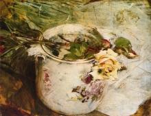Boldini, Rose, su un vaso di Sassonia.jpg