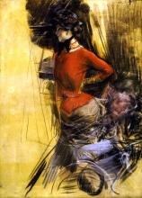 Boldini, Signora in casacca rossa.png