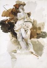 Boldini, Statua in autunno [recto].jpg