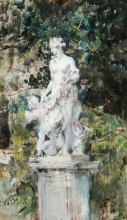 Boldini, Statua nel parco di Versailles [1894 circa].jpg