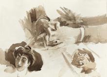 Boldini, Studi di mani e viso di donna [recto].jpg