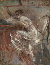 Boldini, Studio di donna che scrive.png