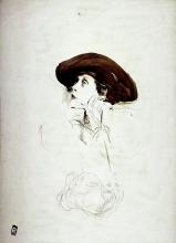 Boldini, Studio di ritratto della signora Lydig | Portrait study of Mrs. Lydig