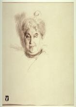 Boldini, Studio di ritratto di donna [verso] | Portrait study of a woman [verso]