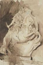 Giovanni Boldini, Studio di una statua equestre (Luigi XIV?), da Bernini