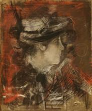 Boldini, Testa di donna su fondo rosso.jpg
