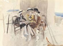 Giovanni Boldini, Tre donne in conversazione su una terrazza