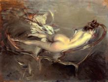 Boldini, Un nudo sdraiato su una duchesse-brisee.png