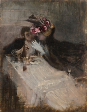 Giovanni Boldini, Una coppia al ristorante