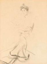 Boldini, Una donna seduta che guarda verso sinistra.jpg