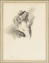 Boldini, Una testa di donna di profilo a destra [a].jpg