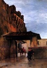 Odoardo Borrani, Antica porta Ognissanti
