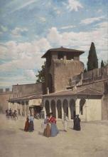 Odoardo Borrani, Antica porta San Gallo